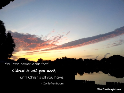 A new day dawning (Photo by Kristen Hogrefe)